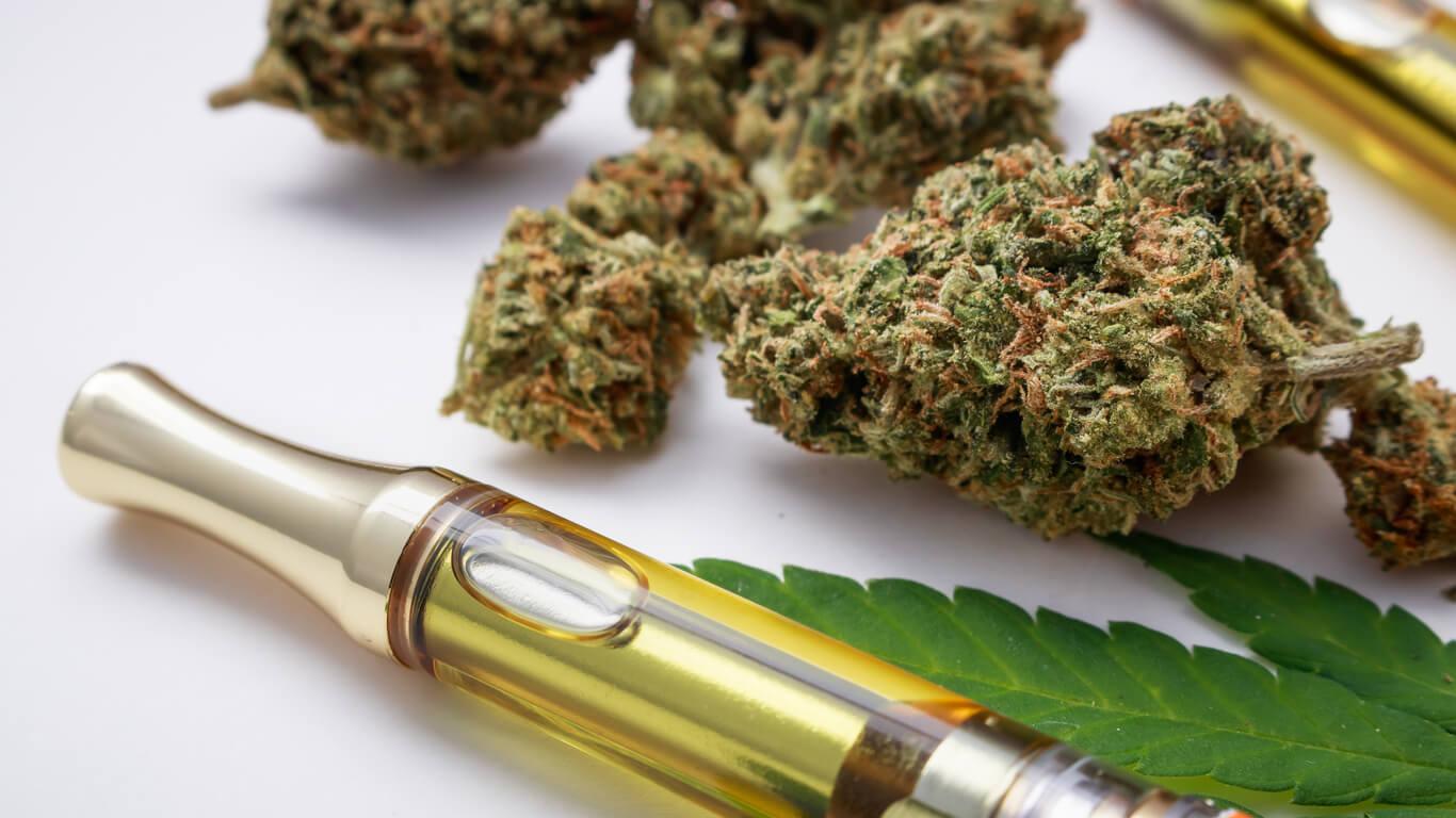Vaping thc v USA - koureni marihuany (konopí, thc) v elektronické cigaretě USA