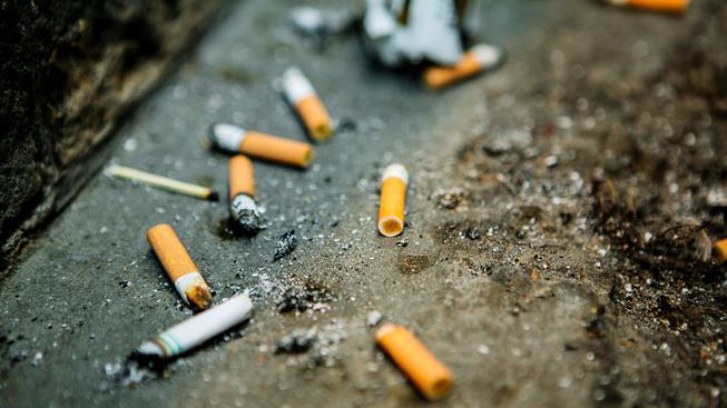 s e-cigaretou nevznikají nedopalky