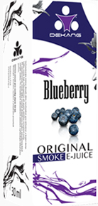E-liquid Dekang Blueberry (borůvka)