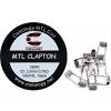 Spirálky Coilology MTL Clapton SS316 0,7 ohm