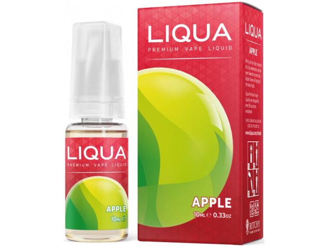 ritchyliqua liquid liqua cz elements apple 10ml0mg jablko