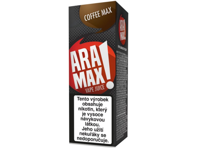 liquid aramax coffee max 10ml12mg