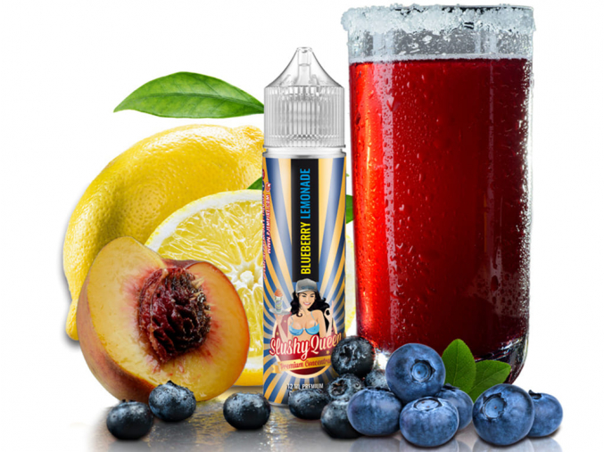 Příchuť PJ Empire Slushy Queen 12 ml Blueberry Lemonade Shake and Vape