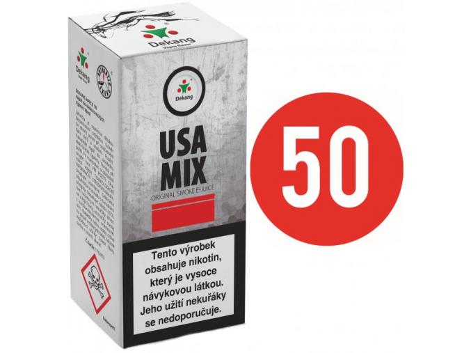 liquid dekang fifty usa mix 10ml 11mg