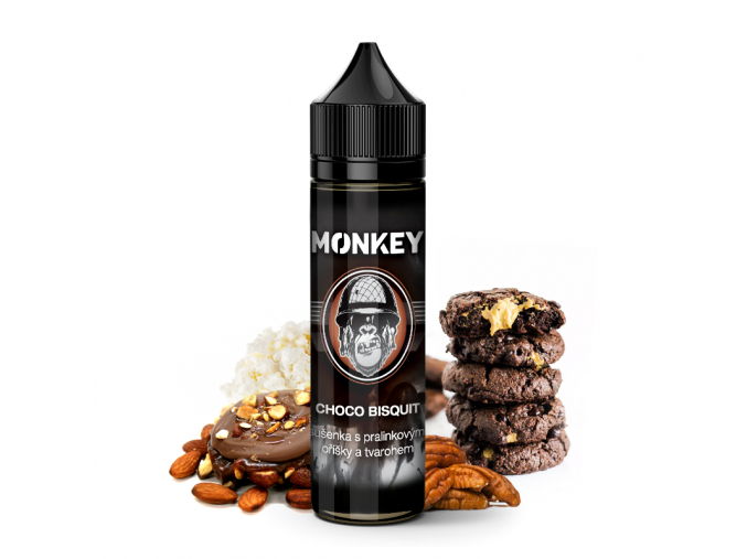 Monkey liquid shake and vape prichut choco bisquit ok