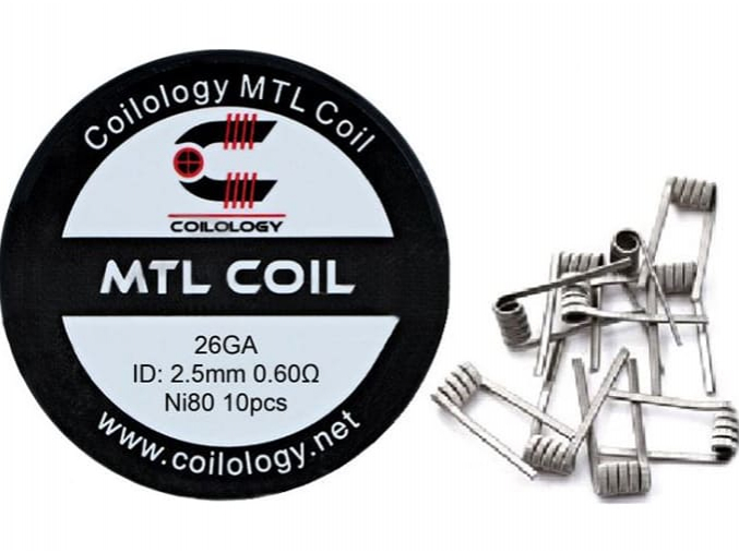 Spirálky Coilology MTL Coil Ni80 0,6 ohm