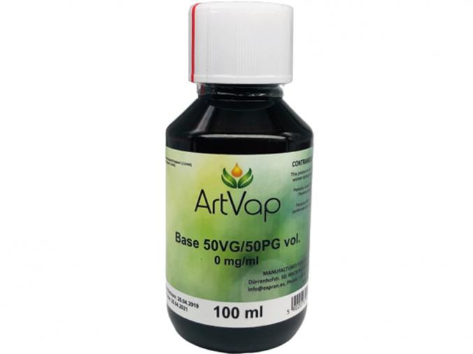 baze artvap 0mg 50 50 PG VG 100ml