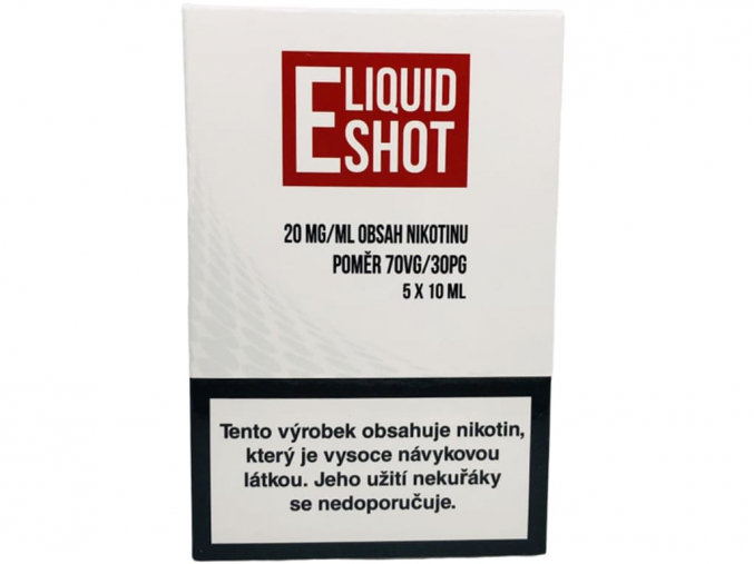 E-Liquid Shot Booster (30/70) 5 x 10 ml / 20 mg