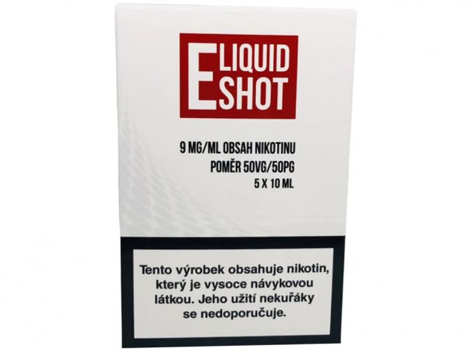 E-Liquid Shot Booster (50/50) 5 x 10 ml / 9 mg