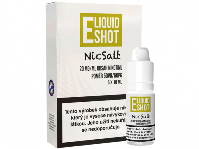 Booster E-Liquid Shot NicSalt (50/50) 5 x 10 ml / 20 mg