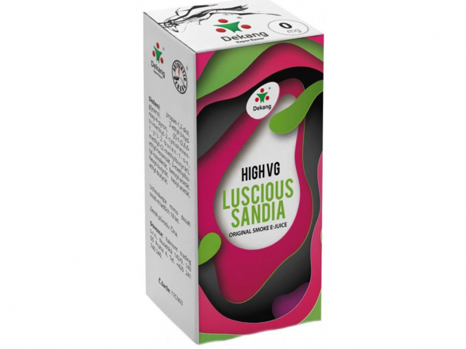 E-liquid Dekang High VG Luscious Sandia (Vodní meloun)