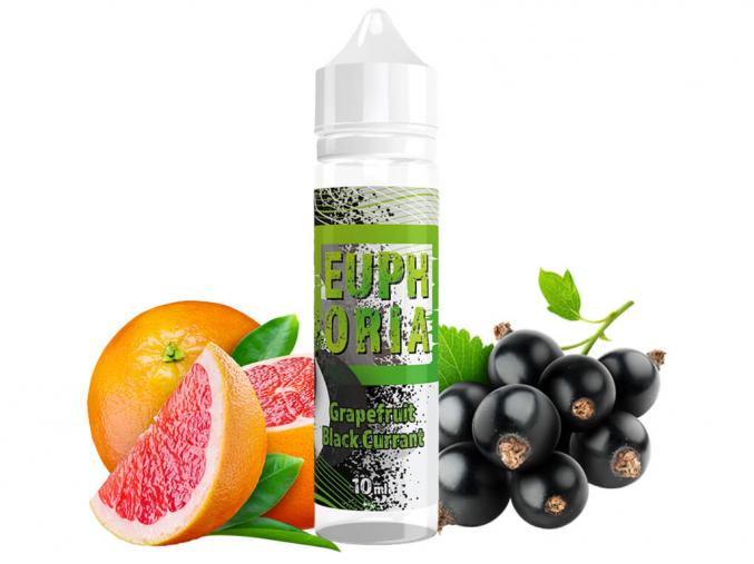 aroma příchuť Long Fill shake and vape Euphoria Grapefruit Black Currant 10ml 60ml