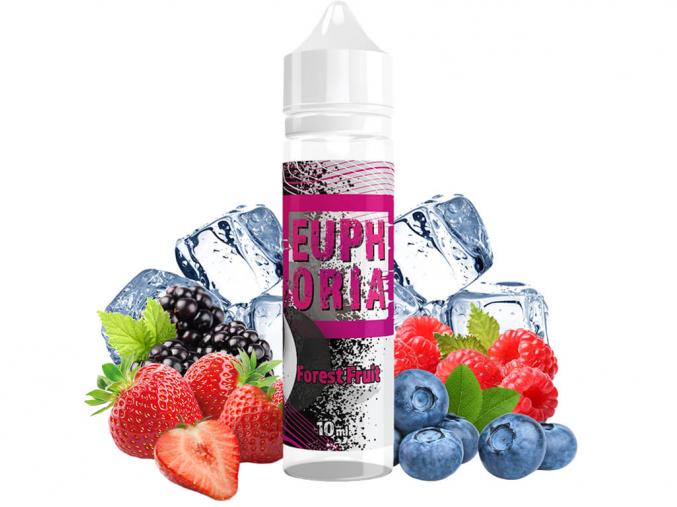 aroma příchuť Long Fill shake and vape Euphoria Forest Fruit 10ml 60ml