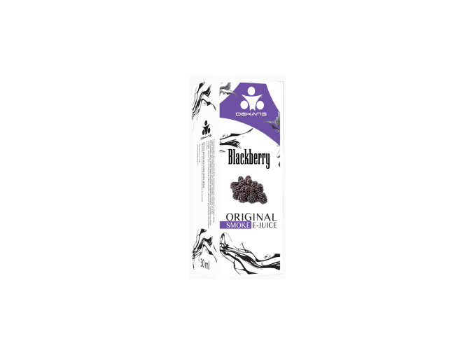 E liquid Dekang Blackberry (ostružina) 0