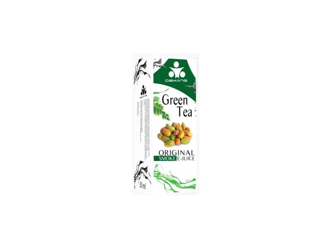 E liquid Dekang Green Tea (Zelený čaj) 0