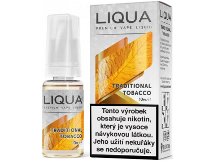 liquid liqua cz elements traditional tobacco 10ml12mg tradicni tabak