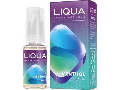 liquid liqua cz elements menthol 10ml0mg mentol
