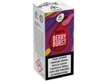 liquid dekang high vg berry burst 10ml 15mg lesni ovoce s jablkem