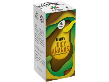 liquid dekang high vg juicy ananas 10ml 0mg stavnaty ananas