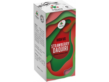 liquid dekang high vg strawberry daquiri 10ml 0mg