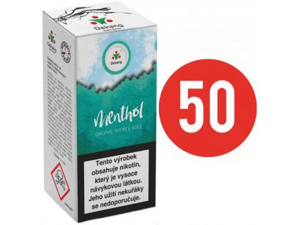 liquid dekang fifty menthol 10ml 11mg