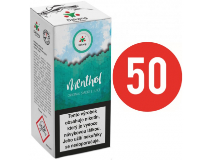 liquid dekang fifty menthol 10ml 11mg