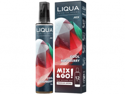 Příchuť Liqua Mix and Go Cool Raspberry