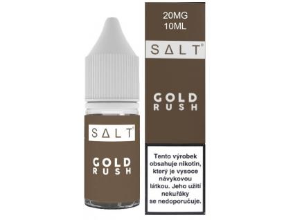 liquid juice sauz salt gold rush 10ml 20mg