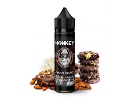Monkey liquid shake and vape prichut choco bisquit ok