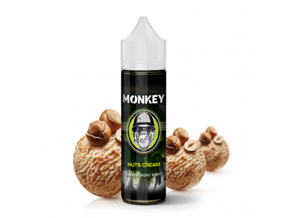 Monkey liquid shake and vape prichut nuts cream ok