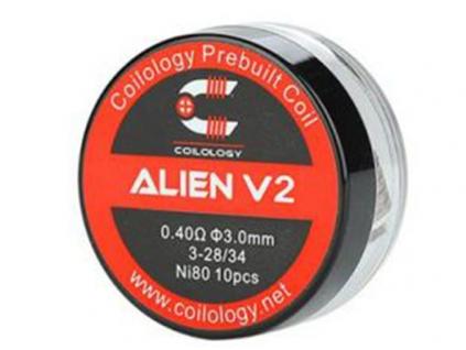 Spirálky Coilology Alien V2 Ni80 0.4 ohm