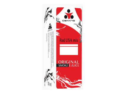 E liquid Dekang RED USA mix 0