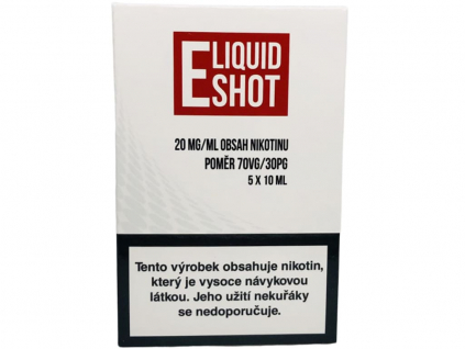 E-Liquid Shot Booster (30/70) 5 x 10 ml / 20 mg
