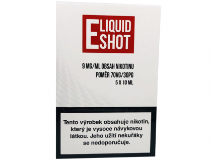 E-Liquid Shot Booster (30/70) 5 x 10 ml / 9 mg