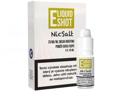Booster E-Liquid Shot NicSalt (50/50) 5 x 10 ml / 20 mg