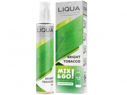 Příchuť Liqua Mix and Go Bright Tobacco