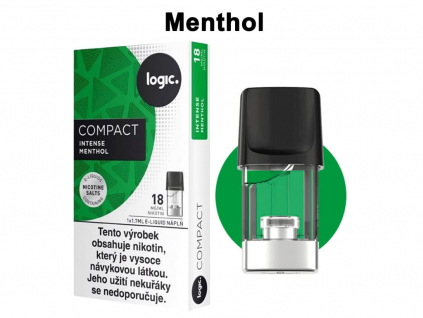 Intense Cartridge náplň JTI LOGIC Compact menthol 1,7ml 18mg