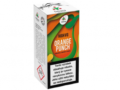 dekang high vg orange punch