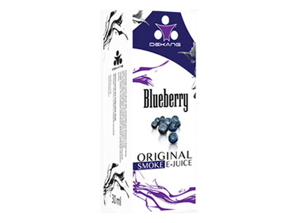 E liquid Dekang Blueberry (borůvka) 0