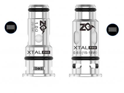 Pod elektronicka cigareta ZQ Xtal PRO náhradní žhavící hlavy Mesh 1 ohm odpor a Mesh 0,6 ohm odpor
