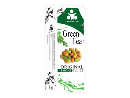 E liquid Dekang Green Tea (Zelený čaj) 0