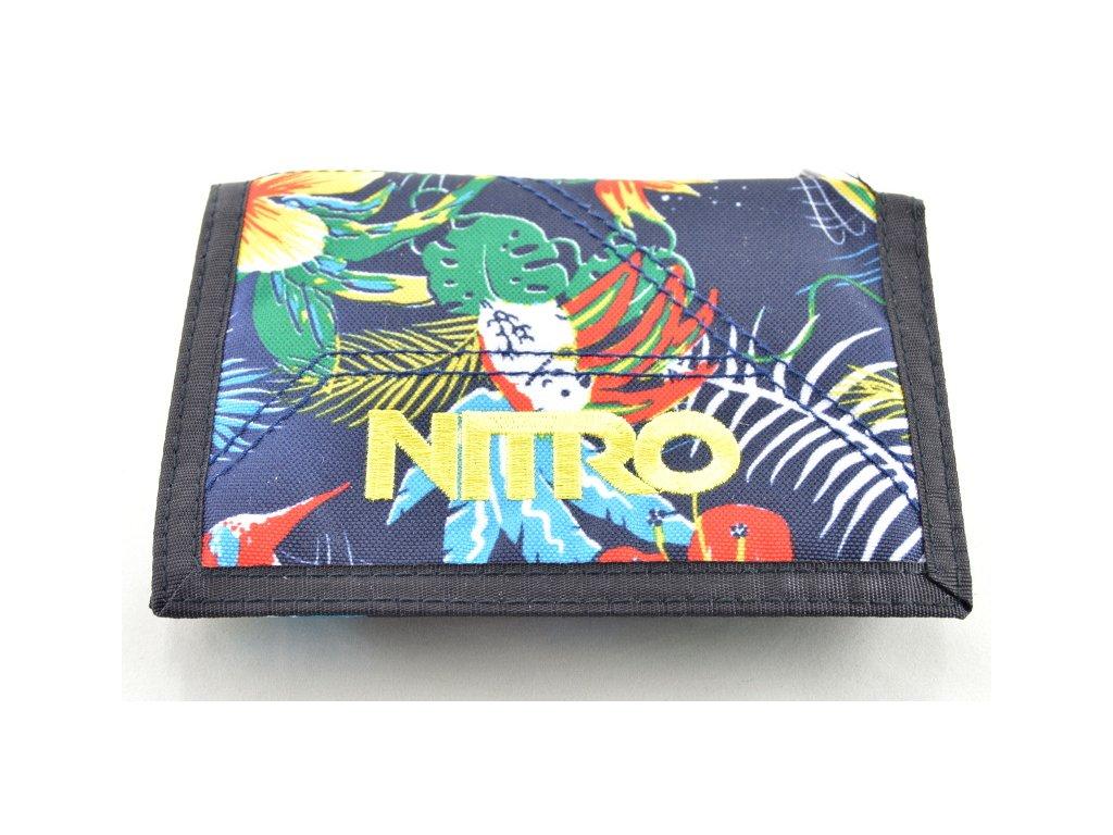Peněženka Nitro s motivem květin