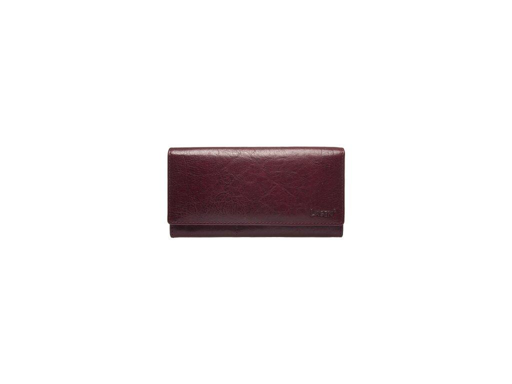 Klasická dámská peněženka Lagen - vínová