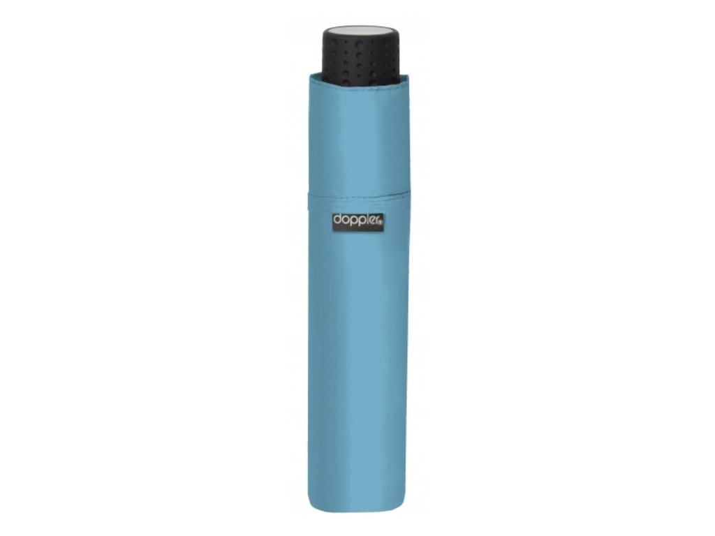 Deštní Doppler odlehčený - světle modrý