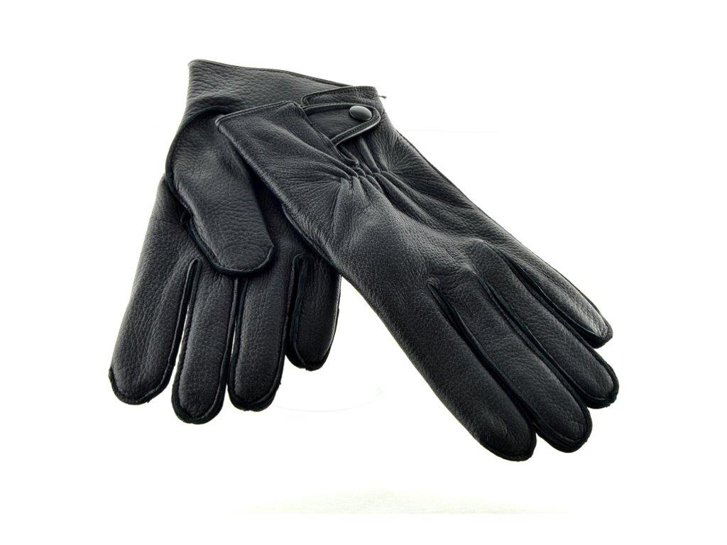 Pánské kožené rukavice z kůže amerického jelena