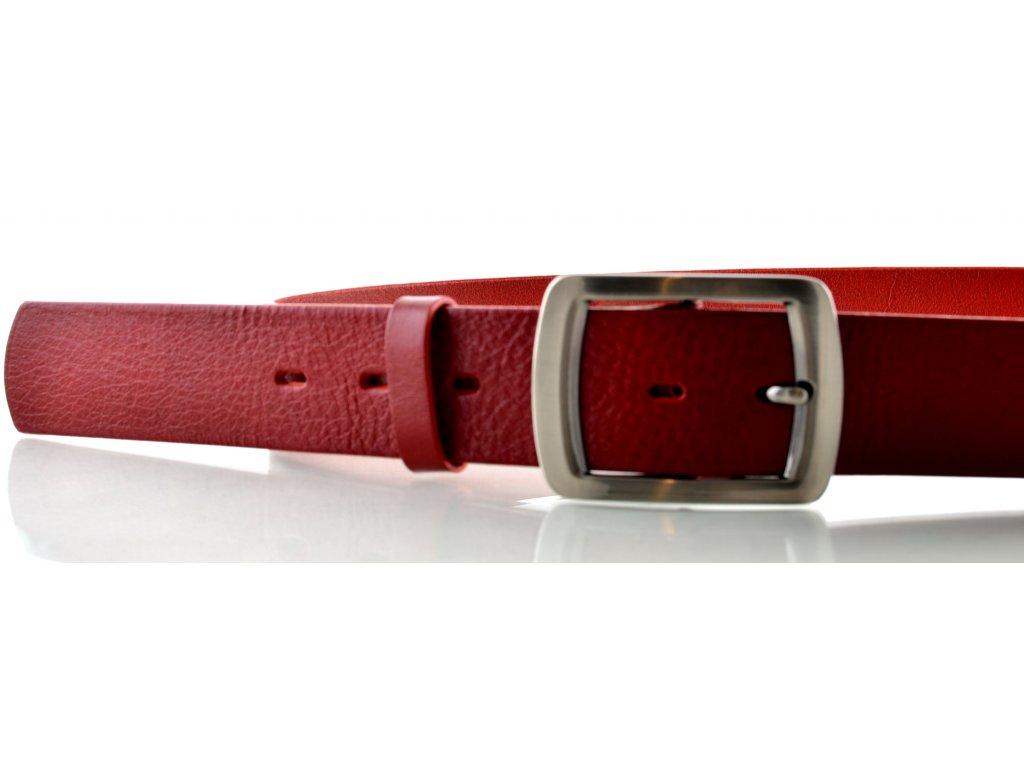 Červený dámský opasek - Penny Belts