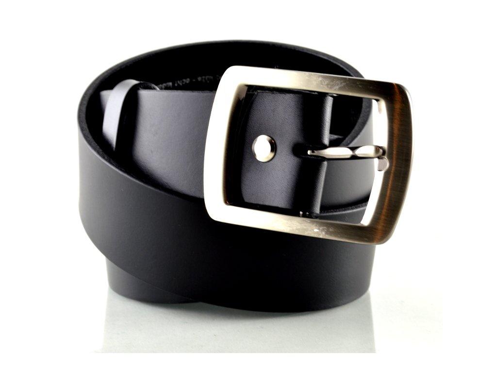 Černý kožený opasek Penny Belts