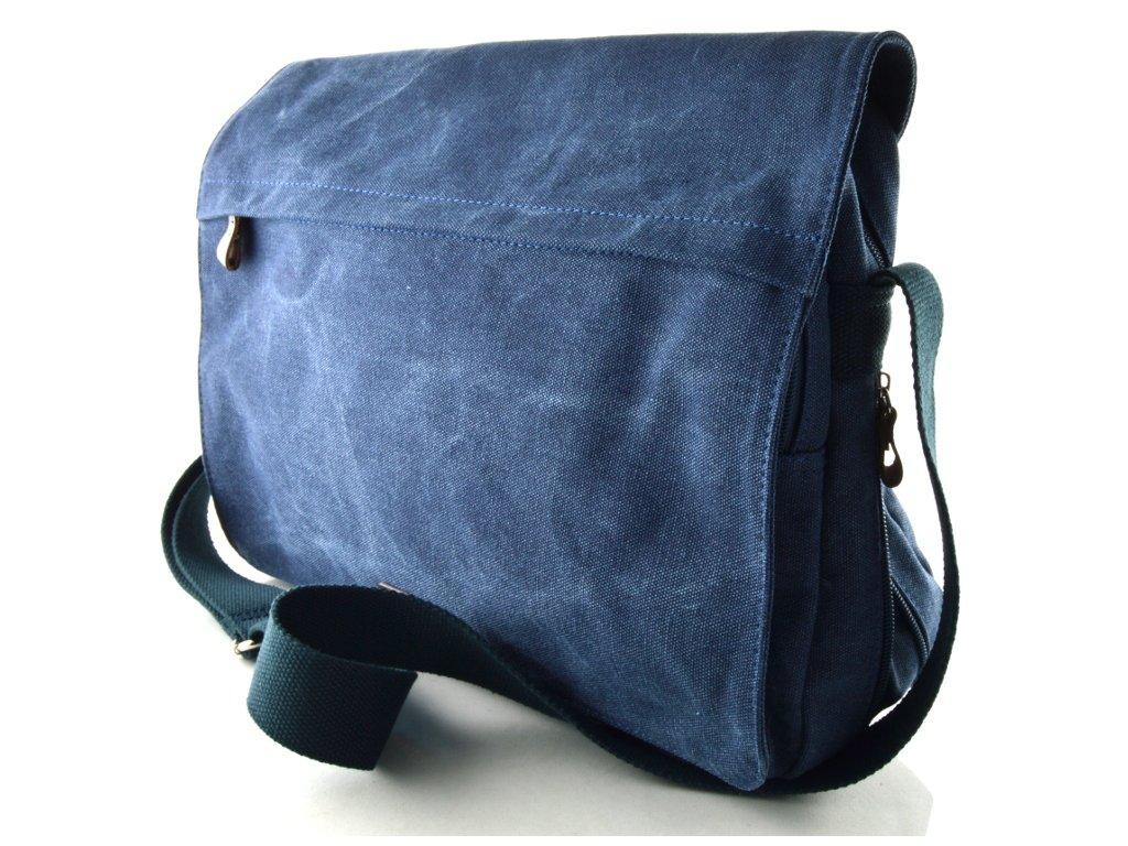 Pánský textilní messenger Katana - modrý