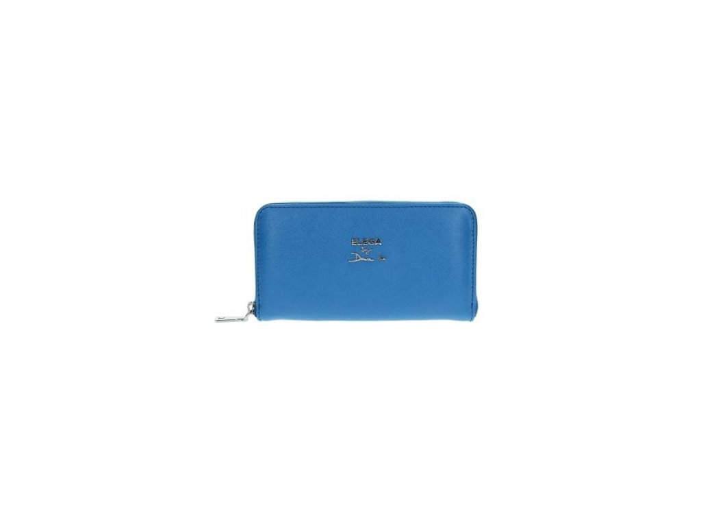 Kožená peněženka ELEGA by Dana M - modrá
