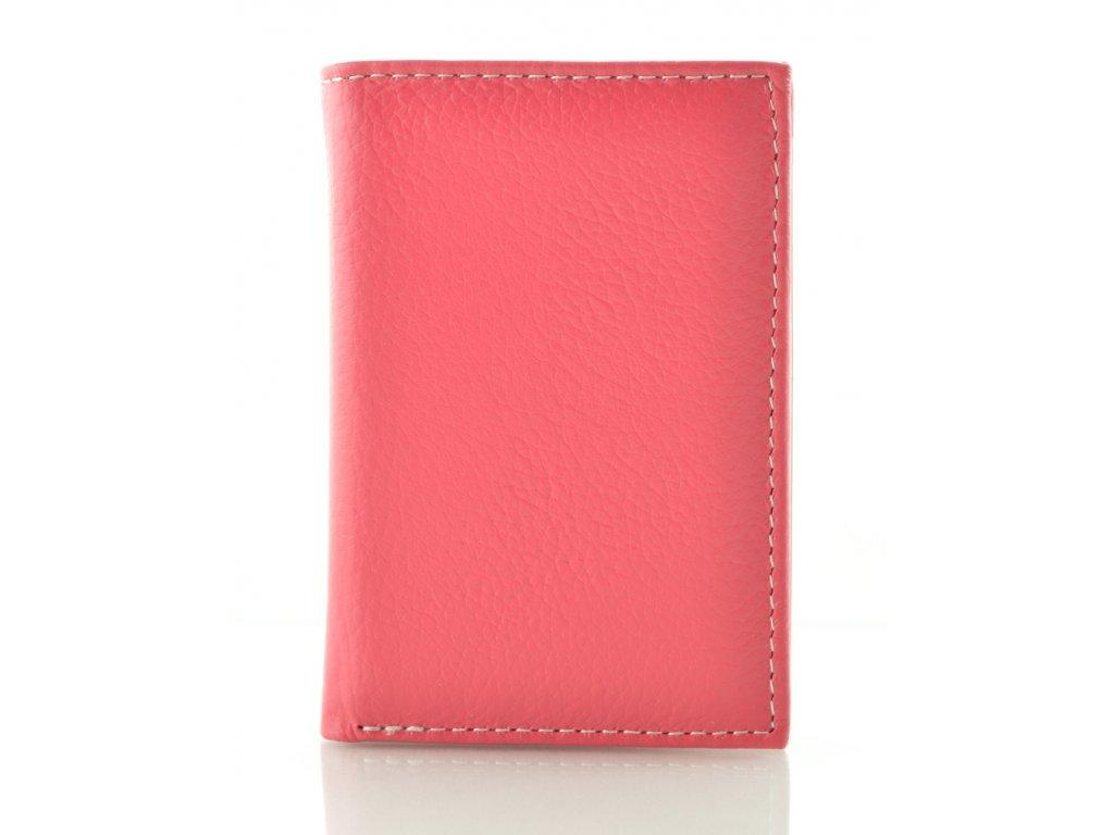 Malá barevná dokladovka - růžová